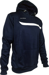 Olorun Adults Tempo Hoodie - Rib Cuffs - Navy/White
