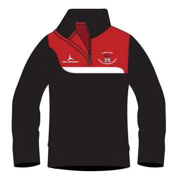 Newcastle Emlyn RFC Kid's Tempo 1/4 Zip Midlayer