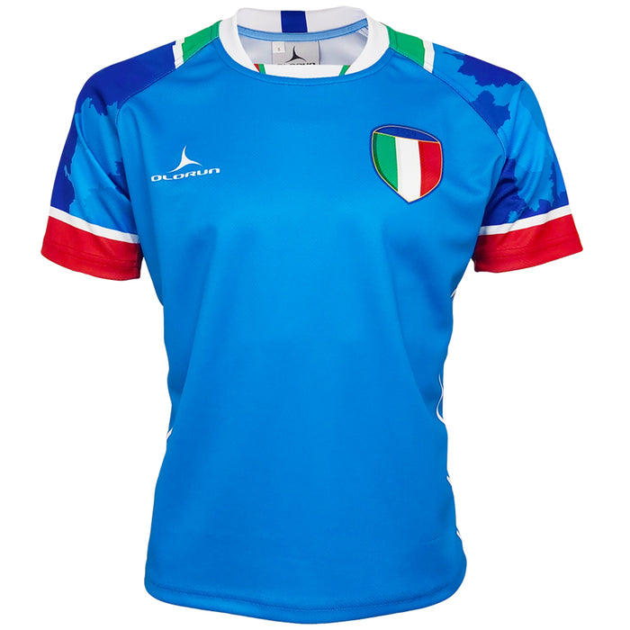 Olorun Camo Italy Rugby Shirt