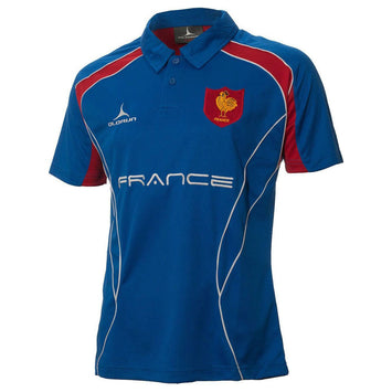 Olorun France Rugby Polo Shirt (Fast Delivery)