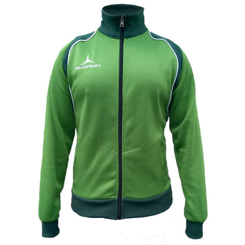 Olorun Retro Jacket - Emerald/Dark Green