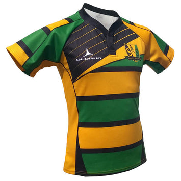 Olorun Saints & Sinners Hooped Rugby Shirt
