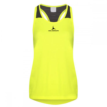 Olorun Activ Micro Mesh Vest - Electric Yellow/Black