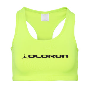 Olorun Activ Sports Bra - Electric Yellow