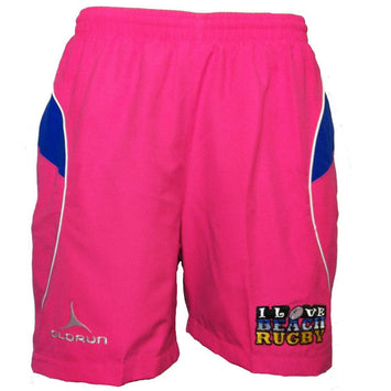 Olorun I Love Beach Rugby Supporters Leisure Shorts (Fast Delivery)