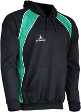 Olorun Precept Panelled Hoodie Black/Emerald/White