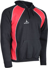 Olorun Precept Panelled Hoodie Black/Red/White