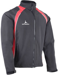 Olorun Precept Soft Shell Jacket Black/Red/Silver/White