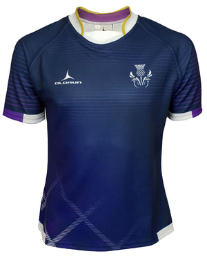 Olorun Contour Scotland Home Nations Rugby Shirt