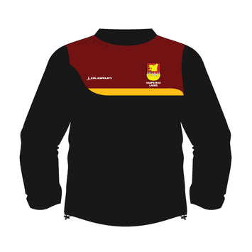 Hampstead RFC Women's Training Top - Black/Burgundy/Amber