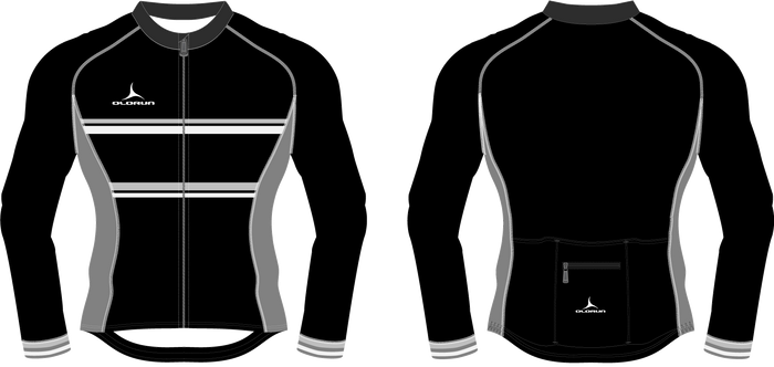 Olorun Tourer Full Zip Men's Long Sleeve Cycling Jersey