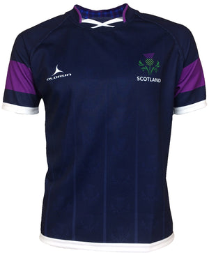 Olorun Scotland Thistle Rugby Shirt