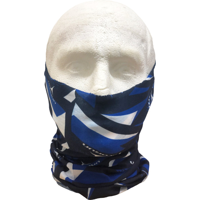 Olorun Snood - Royal Blue/White/Navy