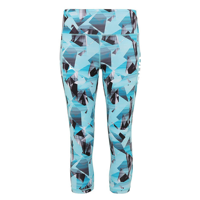 Olorun Activ Sketch 3/4 Leggings - Turquoise