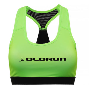 Olorun Activ Performance Sports Bra - Lightning Green