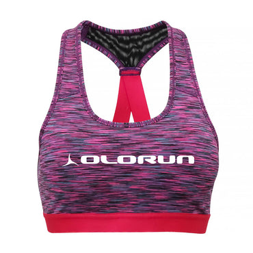 Olorun Activ Performance Sports Bra - Space Pink