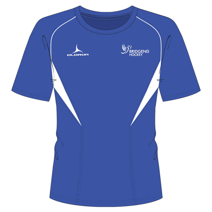 Bridgend Hockey Kid's Flux T-Shirt - Home