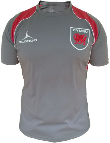 Olorun Retro Wales Rugby T Shirt (Fast Delivery)