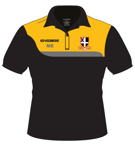 Moore RUFC Engage Tempo Kid's Polo Shirt