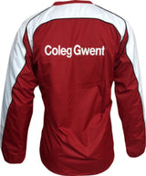 Coleg Gwent Adult's Iconic Training Smock Top - Red/White/Black
