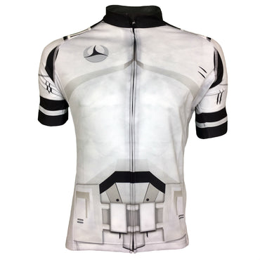 Olorun Galactic Trooper Full Zip Short Sleeve Cycling Jersey (Fast Delivery)