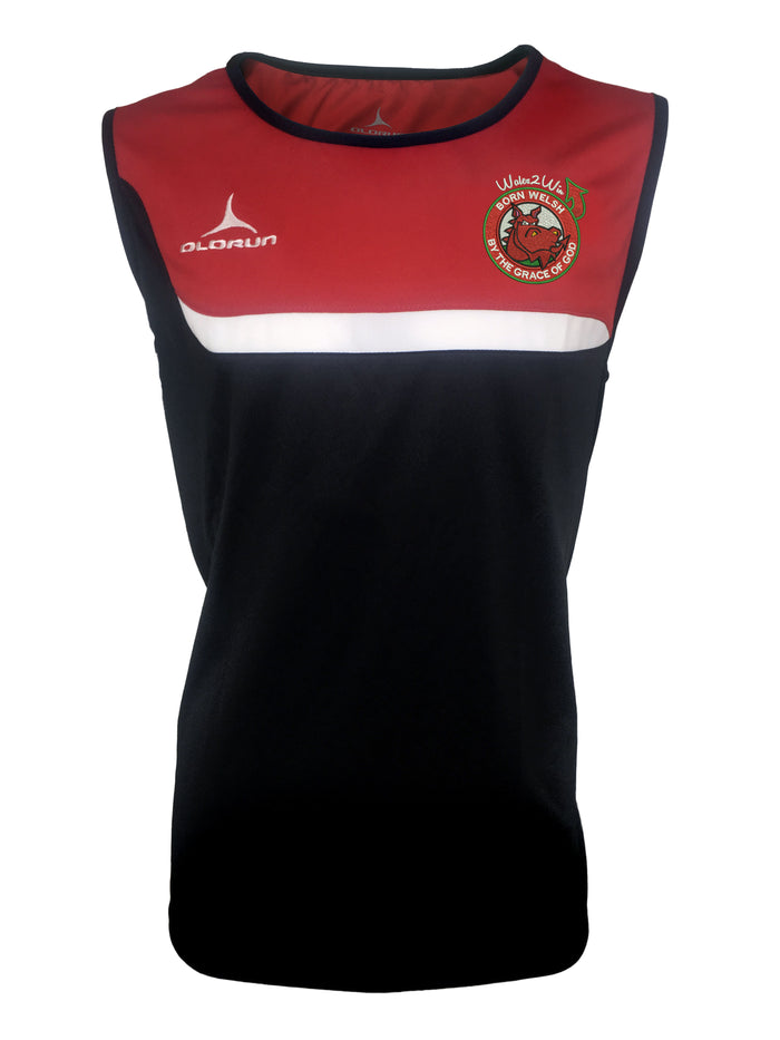 Olorun 'Wales 2 Win' Adult's Tempo Vest