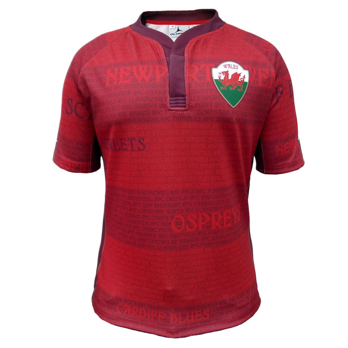 Olorun Wales Legend Rugby Shirt