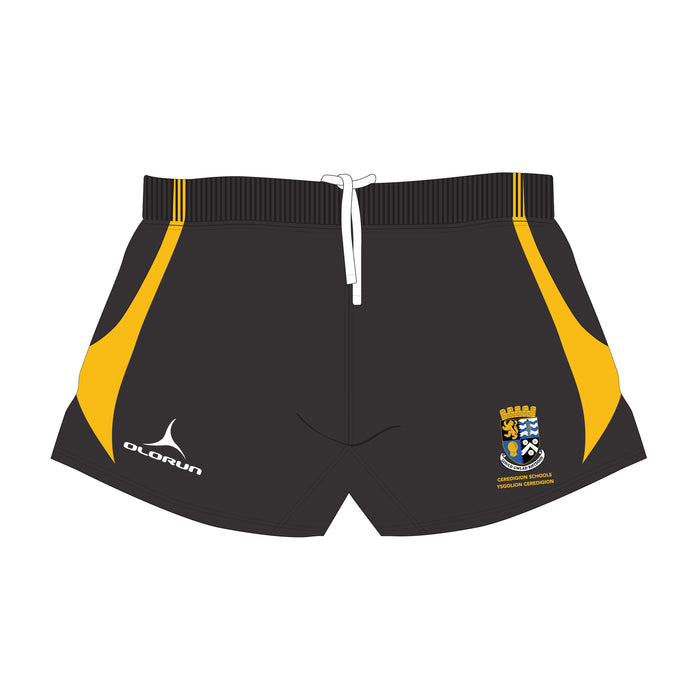 Ceredigion Schools Kid's Rugby Playing Shorts