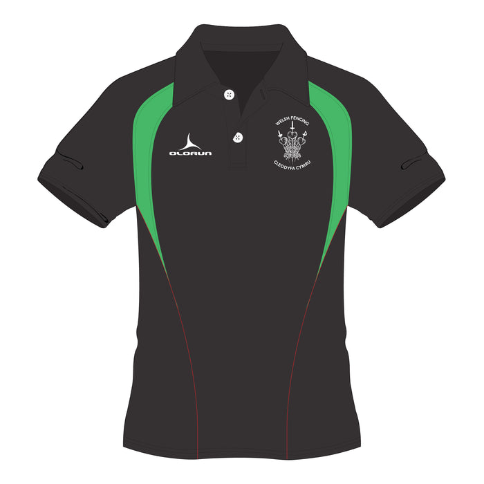 Welsh Fencing Adult's Pulse Polo Shirt