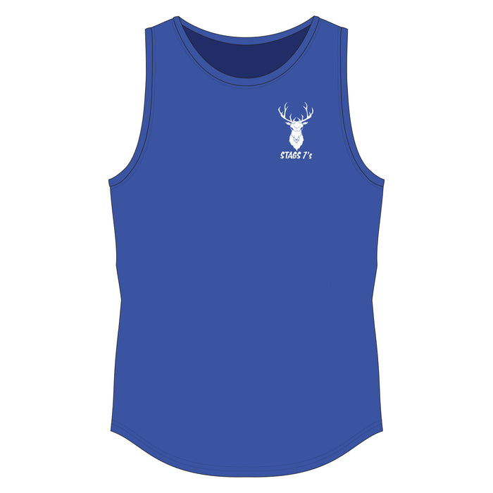 Stags 7's Sports Vest - Royal Blue