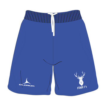 Stags 7's Training Shorts - Royal Blue