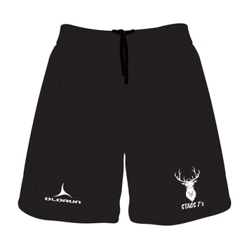 Stags 7's Training Shorts - Black