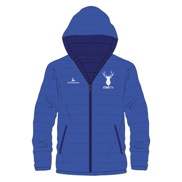 Stags 7's Padded Jacket - Royal Blue
