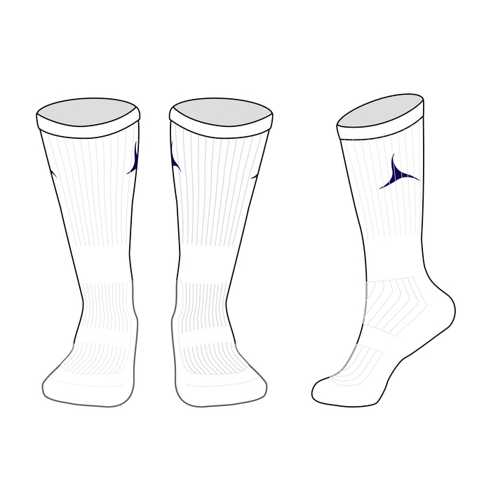 Butchers 2019 Sports Sock - White/Navy