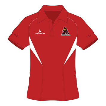 Red Roosters 7's Flux Polo Shirt