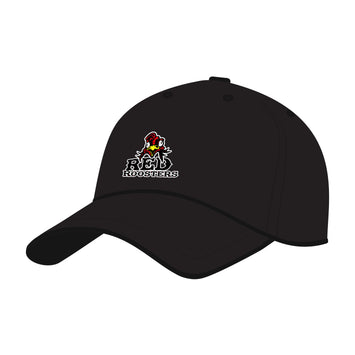 Red Roosters 7's Flexfit Baseball Cap - Black