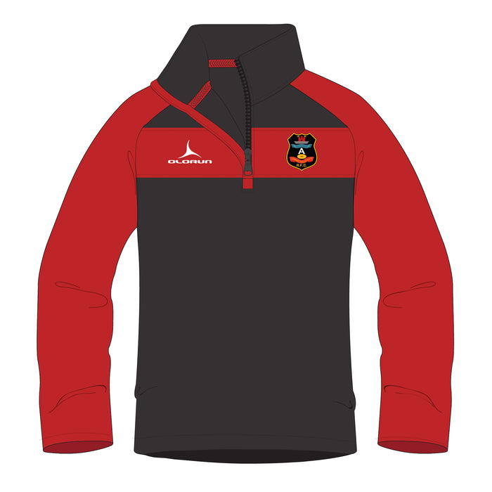 Carmarthen Athletic Children's 1/4 Zip Midlayer