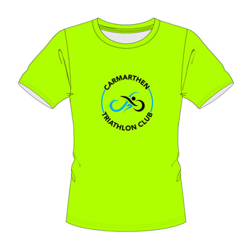 CTC Adult's Sports T-Shirt - Electric Green