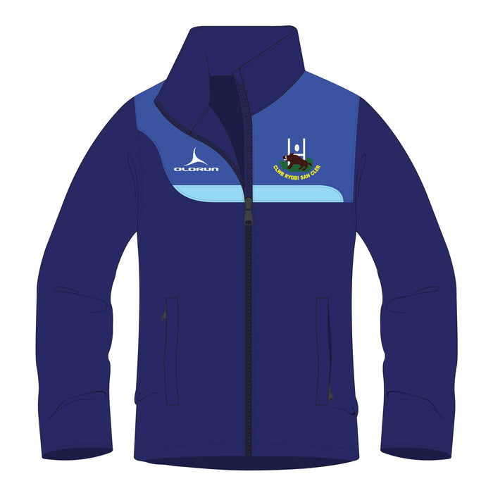 St Clears RFC Kid's Tempo Full Zip Training Jacket