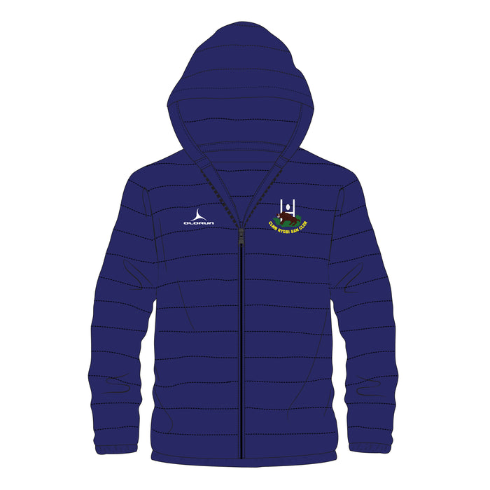 St Clears RFC Kid's Padded Jacket