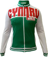 Olorun Wales Full Zip Long Sleeve Cycling Jersey (Fast Delivery)