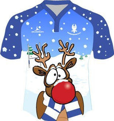 Haverfordwest RFC Kids' Christmas Rugby Shirt Fast Delivery Fast Delivery