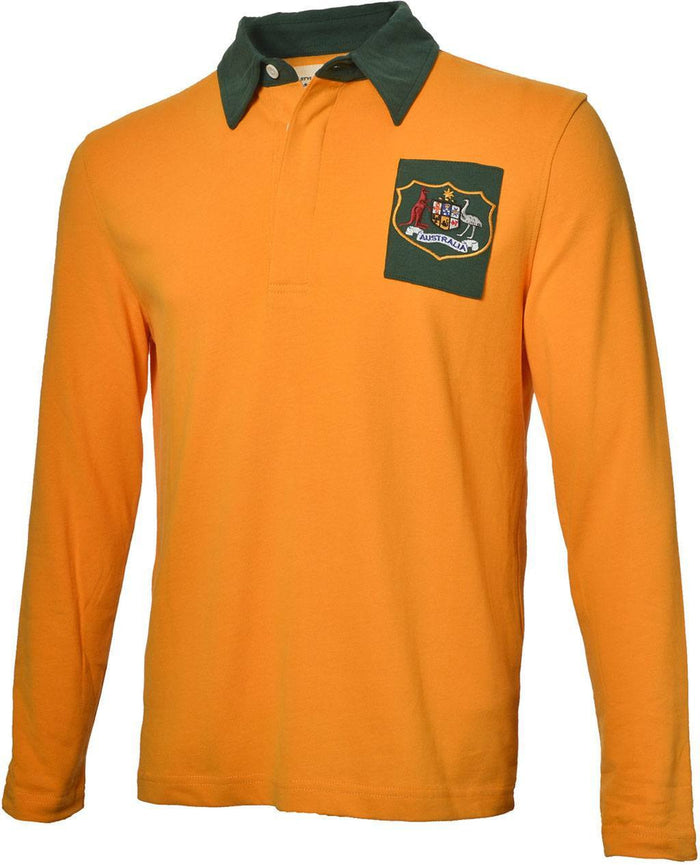 Olorun Retro Australia Rugby Shirt (Fast Delivery)