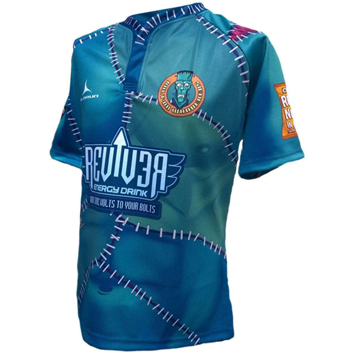 Olorun Bolt on Wanderers Kids' Halloween Rugby Shirt