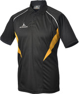 Olorun Flux Polo Shirt  Black/Amber/White (Fast Delivery)