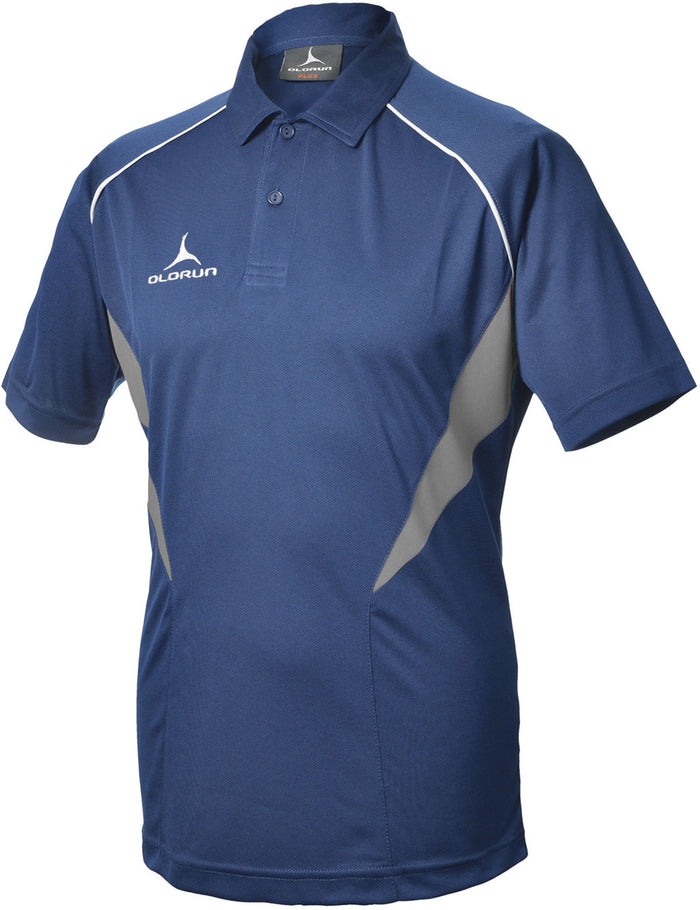 Olorun Flux Polo Shirt  Navy/Grey/White (Fast Delivery)