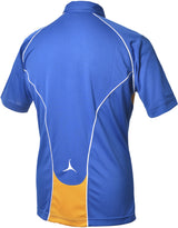 Olorun Flux Polo Shirt  Royal/Amber/White (Fast Delivery)