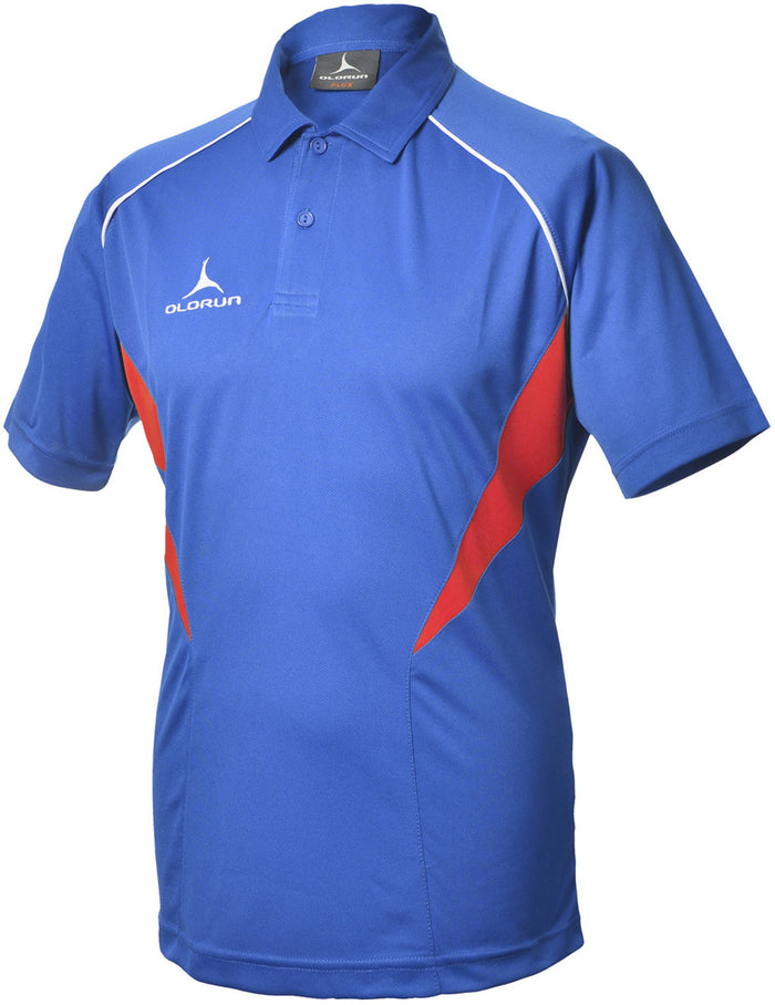 Olorun Flux Polo Shirt  Royal/Red/White (Fast Delivery)