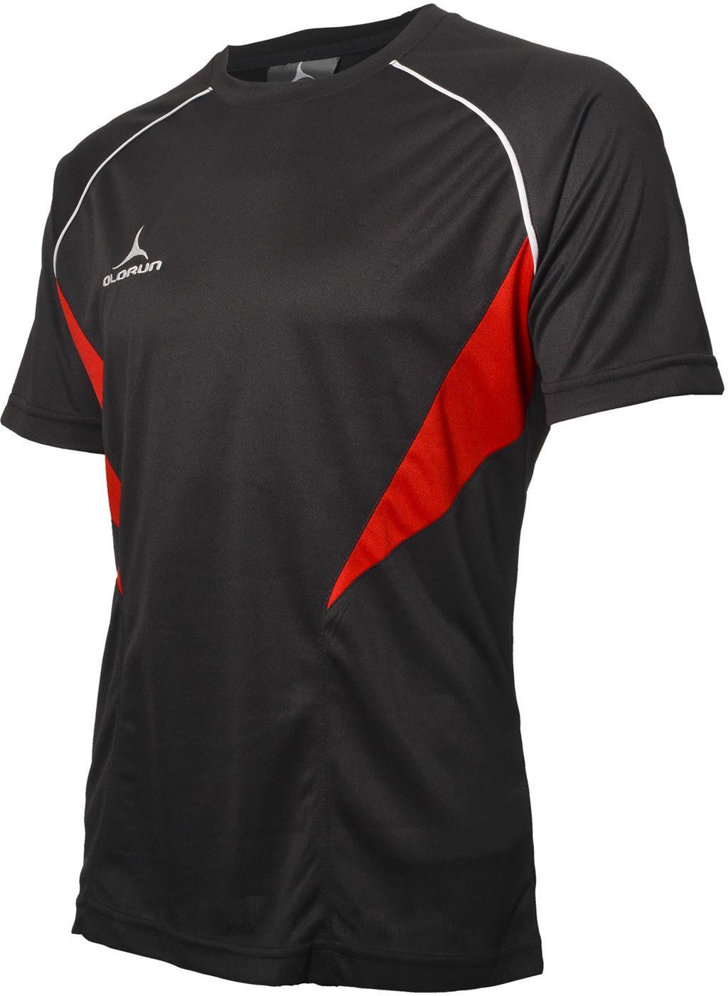 Olorun Flux T Shirt Black Red White (Fast Delivery) d87879fea