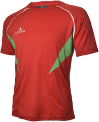 Olorun Flux T Shirt Red/Emerald/White (Fast Delivery)
